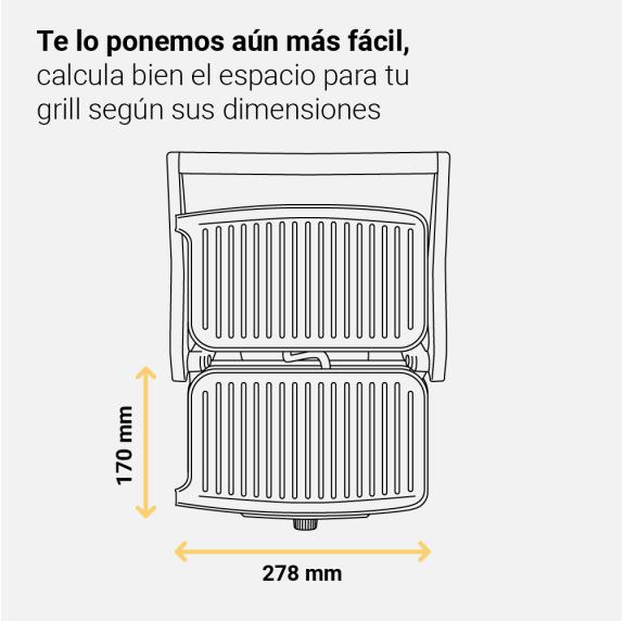 HEALTHY GRILL 1500/OB Grill de 1500W