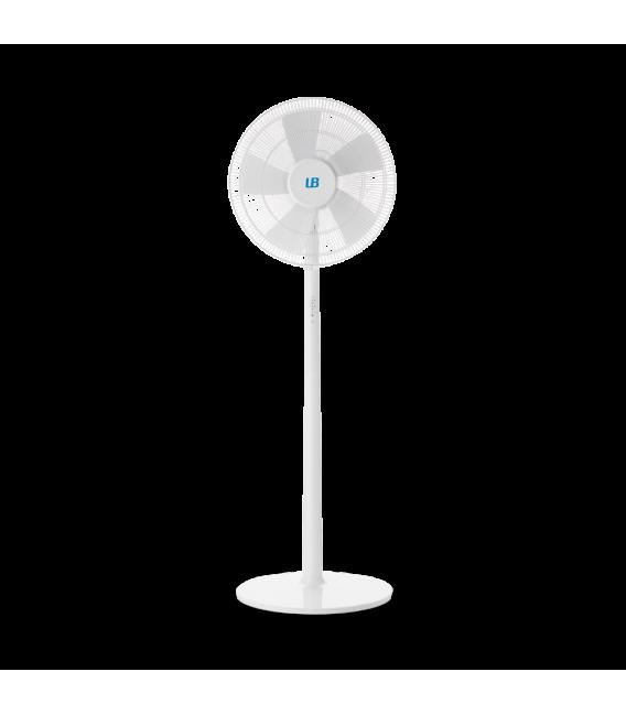 Ventilador de pie silencioso con una potencia de 55W con control remoto