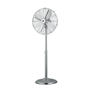 ZERMATT Ventilador de pie inox con una potencia de 50W