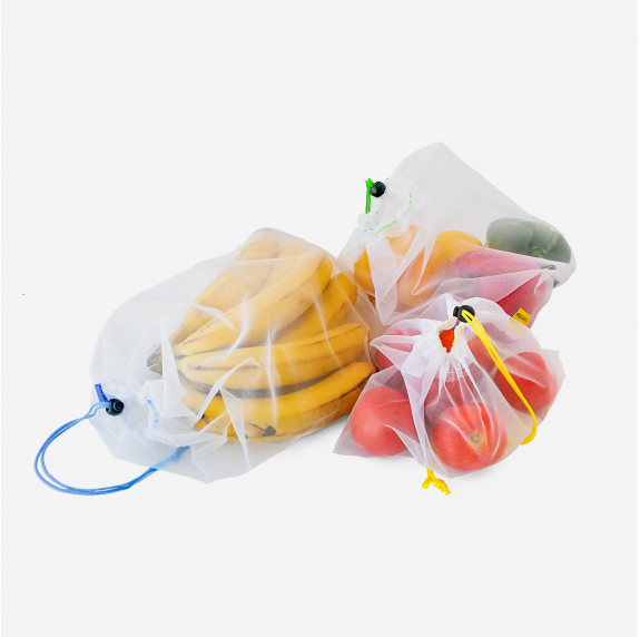 Bolsas de malla reutilizables