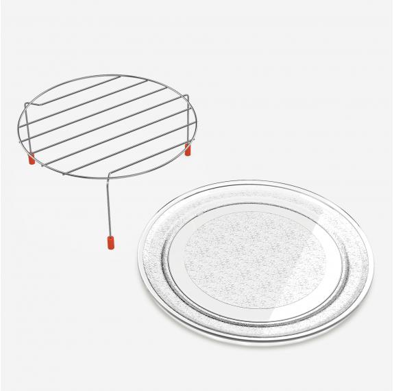 SPEEDYBAKE 3023 Microondas integrable en cristal negro