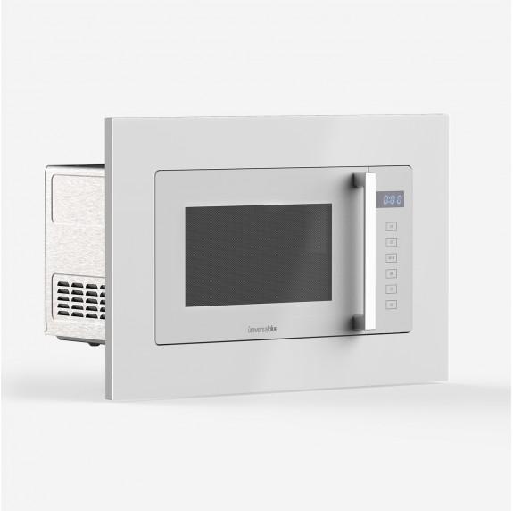 SPEEDYBAKE 3023 Microondas integrable en cristal blanco