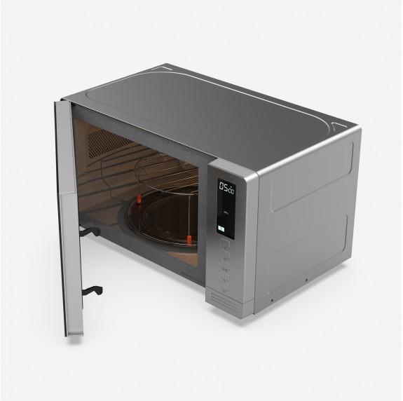 SPEEDYBAKE 3024 Microondas con grill inox