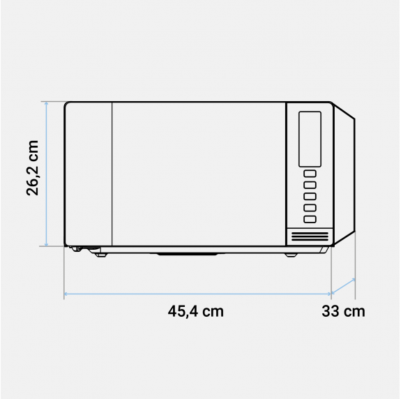 PACK AHORRO Microondas SPEEDYBAKE 3024 + Tapa de silicona