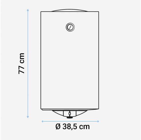 MIDEA Termo eléctrico 50 litros