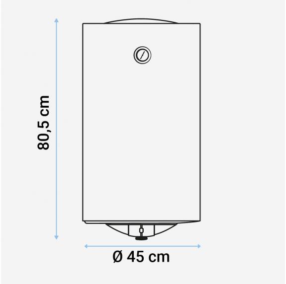 MIDEA Termo eléctrico 80 litros