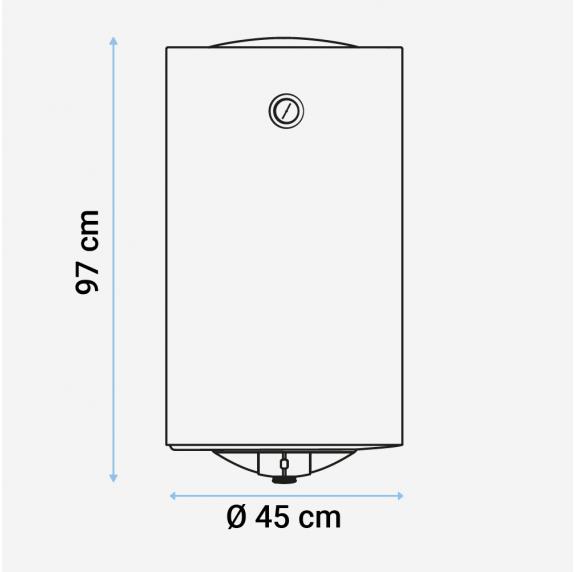 MIDEA Termo eléctrico 100 litros