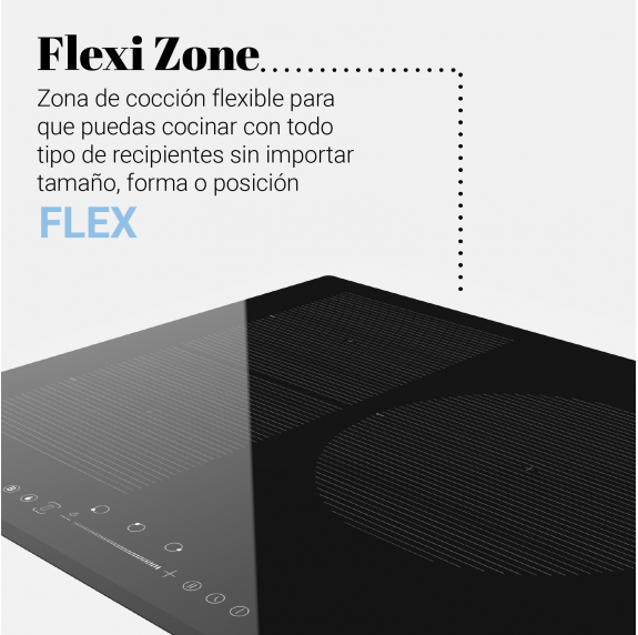 MEISSA FLEX Placa inducción flexible