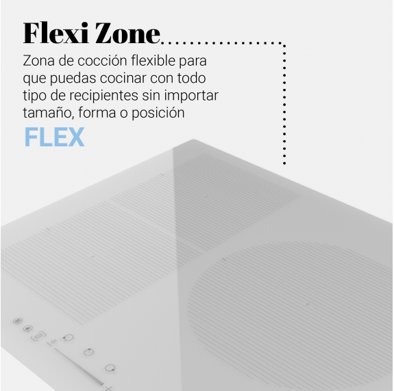 MEISSA FLEX 3070W Placa inducción flexible