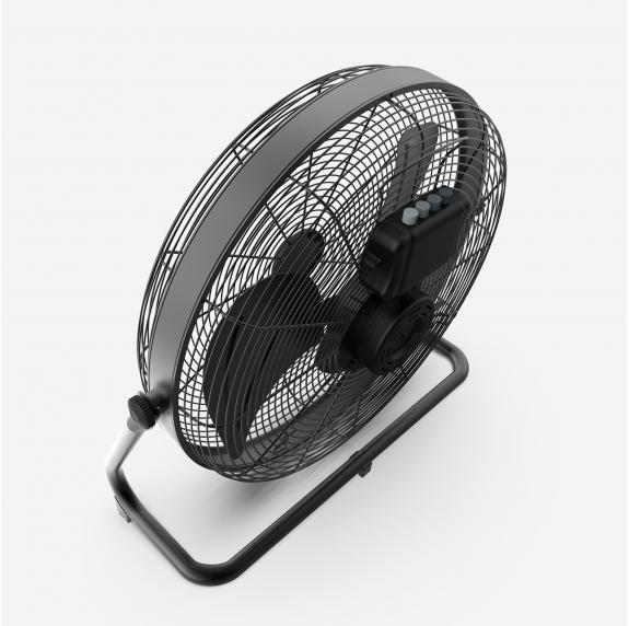 ASTÚN 4090 Ventilador industrial vintage de suelo 90W