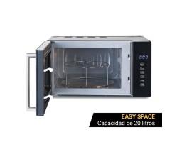 WAVECHEF ERICEIRA Microondas con grill 20 litros en cristal