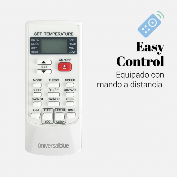 AMAZONAS 4046 Pack Aire Acondicionado Split 4600 Frigorías