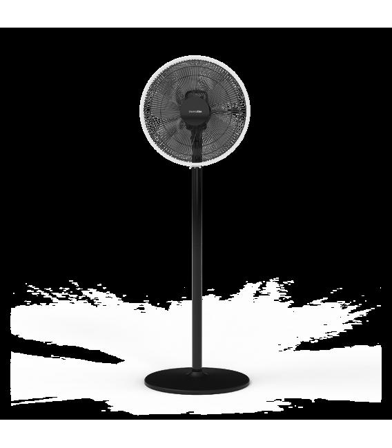 ZERMAT 2045 Ventilador de pie con base redonda
