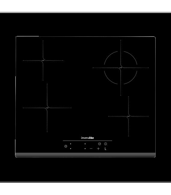 VEGAII Placa vitrocerámica