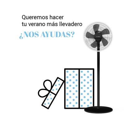 Universal Blue ventilador silencioso