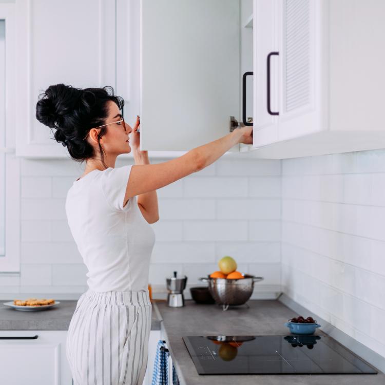 armario de la cocina ahorrar espacio