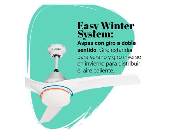 ventilador de techo barato blanco